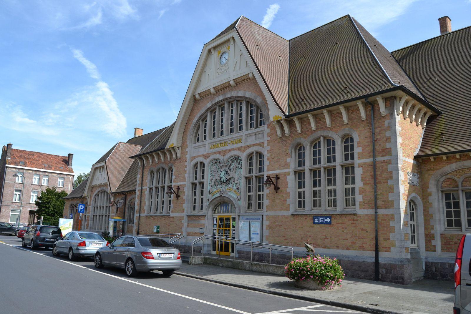La jolie gare d'Adinkerke De Panne