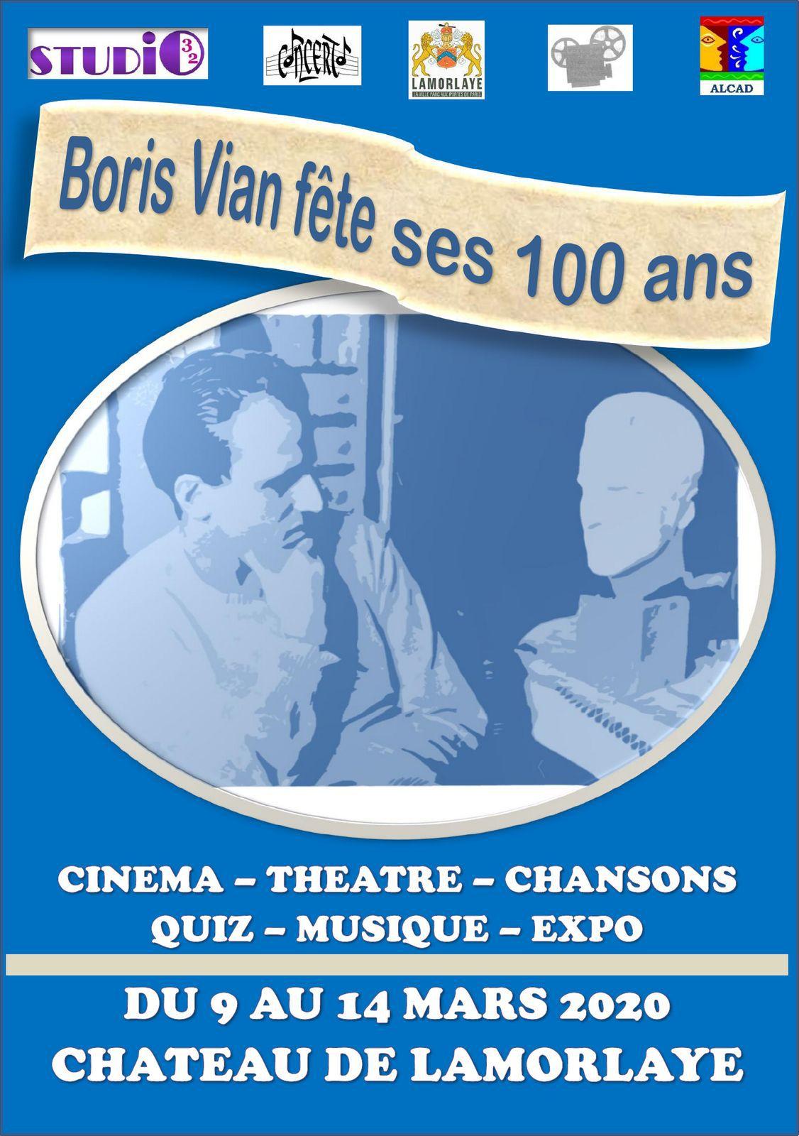 Boris Vian fête ses 100 ans