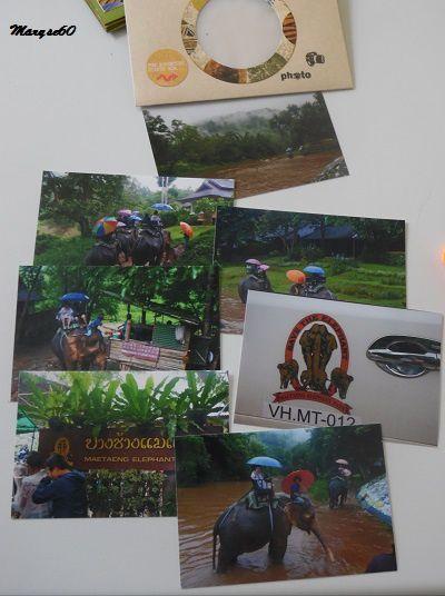 Une enveloppe contenant plusieurs photos.