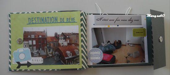 """Mini-album """"Home Sweet Home"""""""