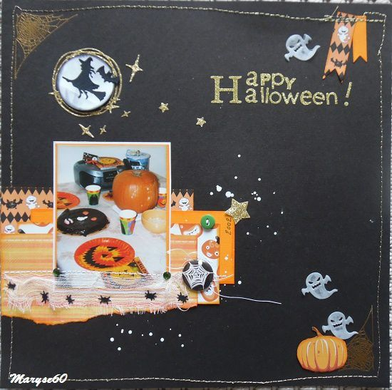 Une page pour Halloween