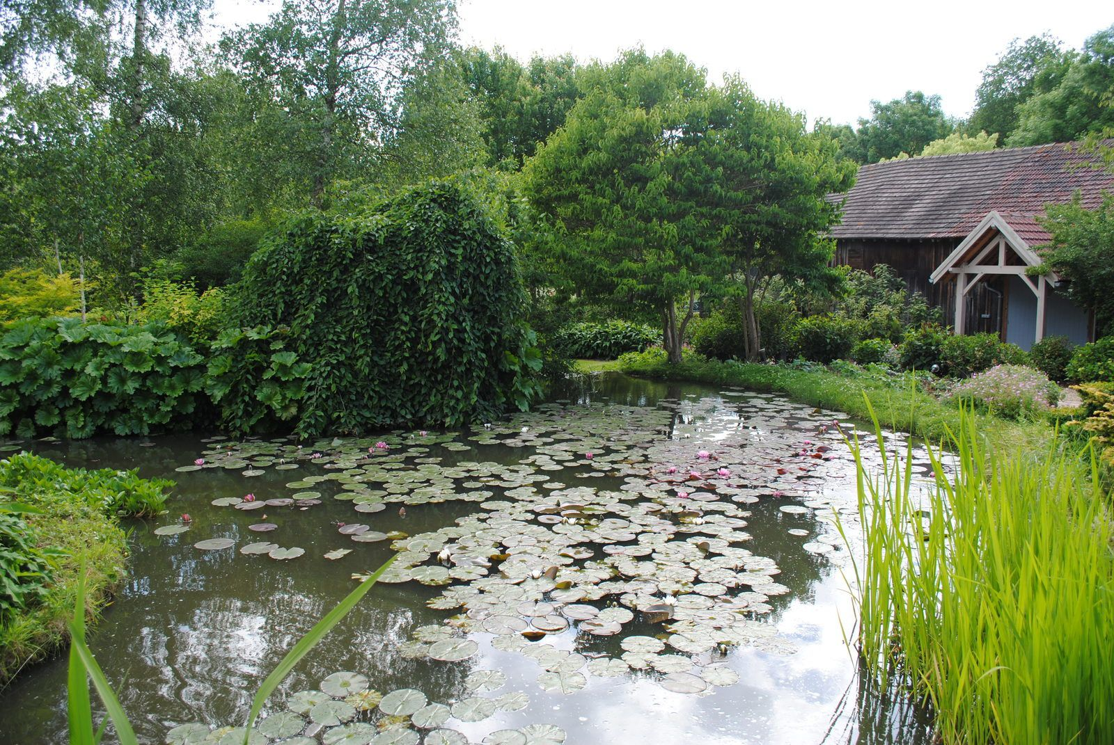 {Oise} Le jardin André Van Beek