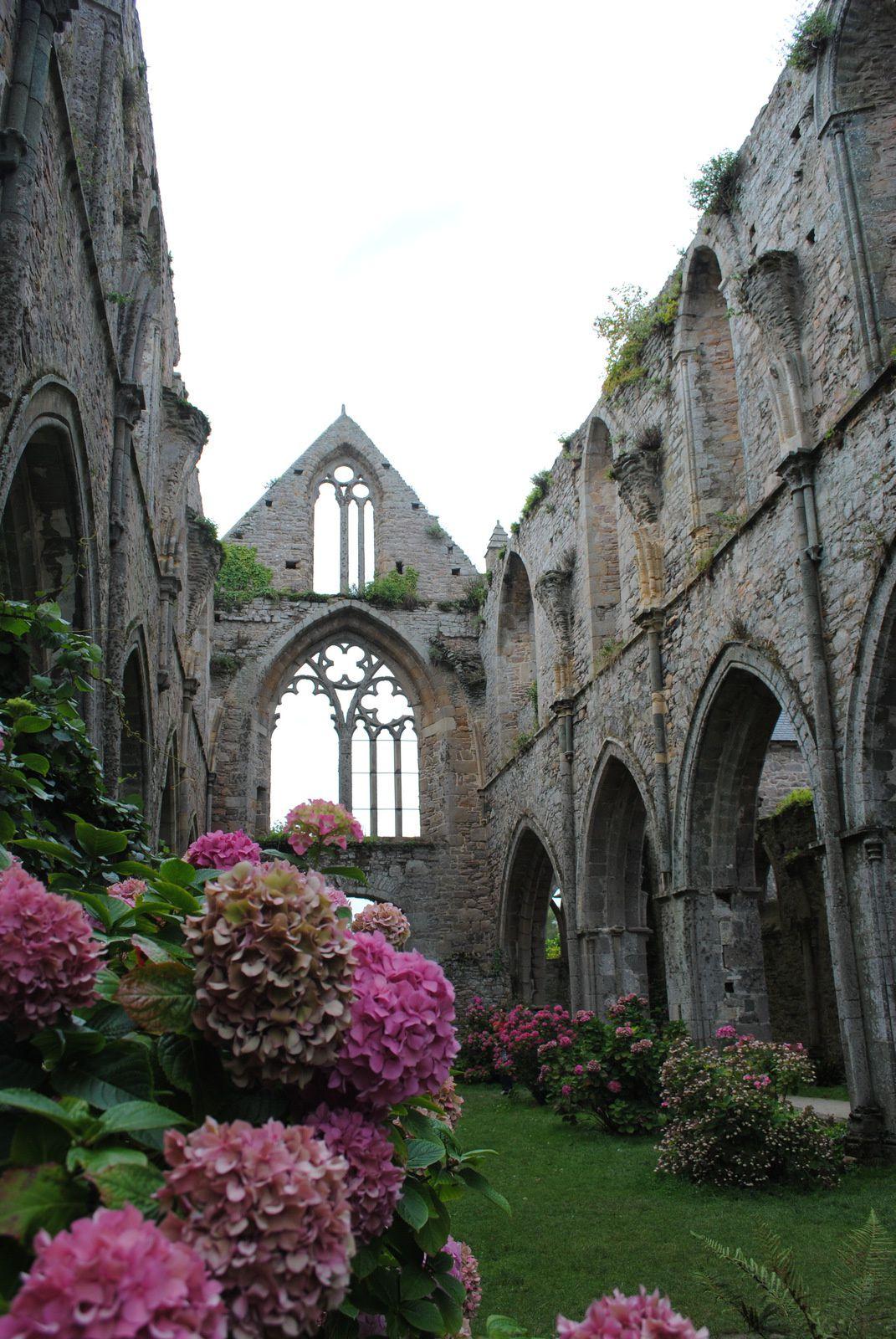 {Bretagne} L'Abbaye de Beauport