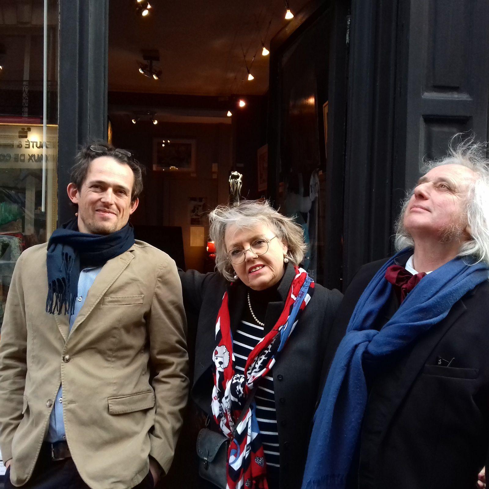 Vernissage 8 Rue de la Grande Chaumière aux Montparnos Paris mars 2019