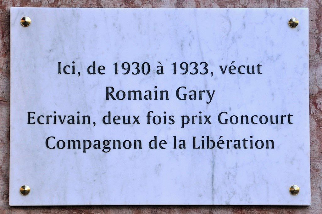 Hommage à Romain Gary