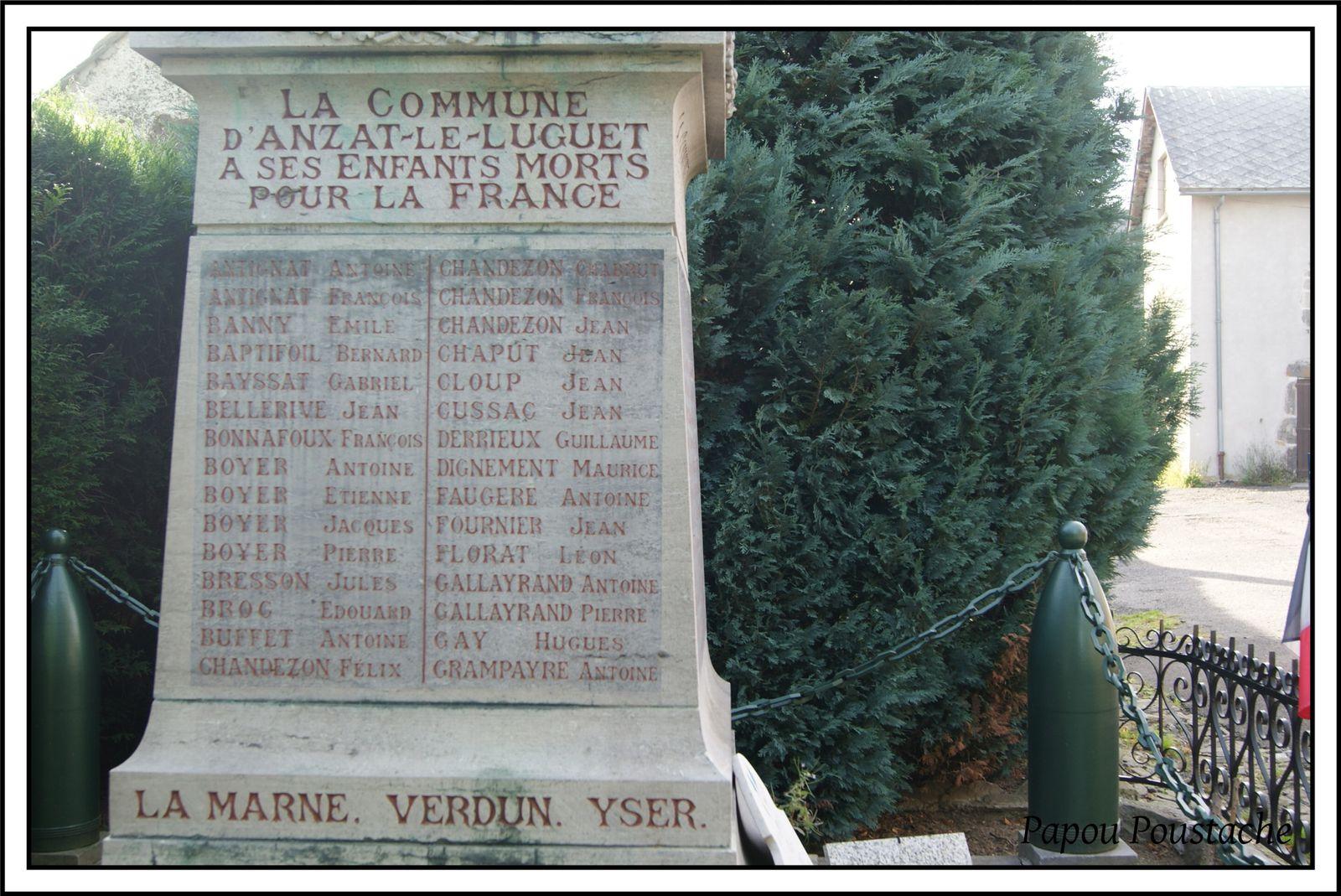 le monument aux morts(généalogie)