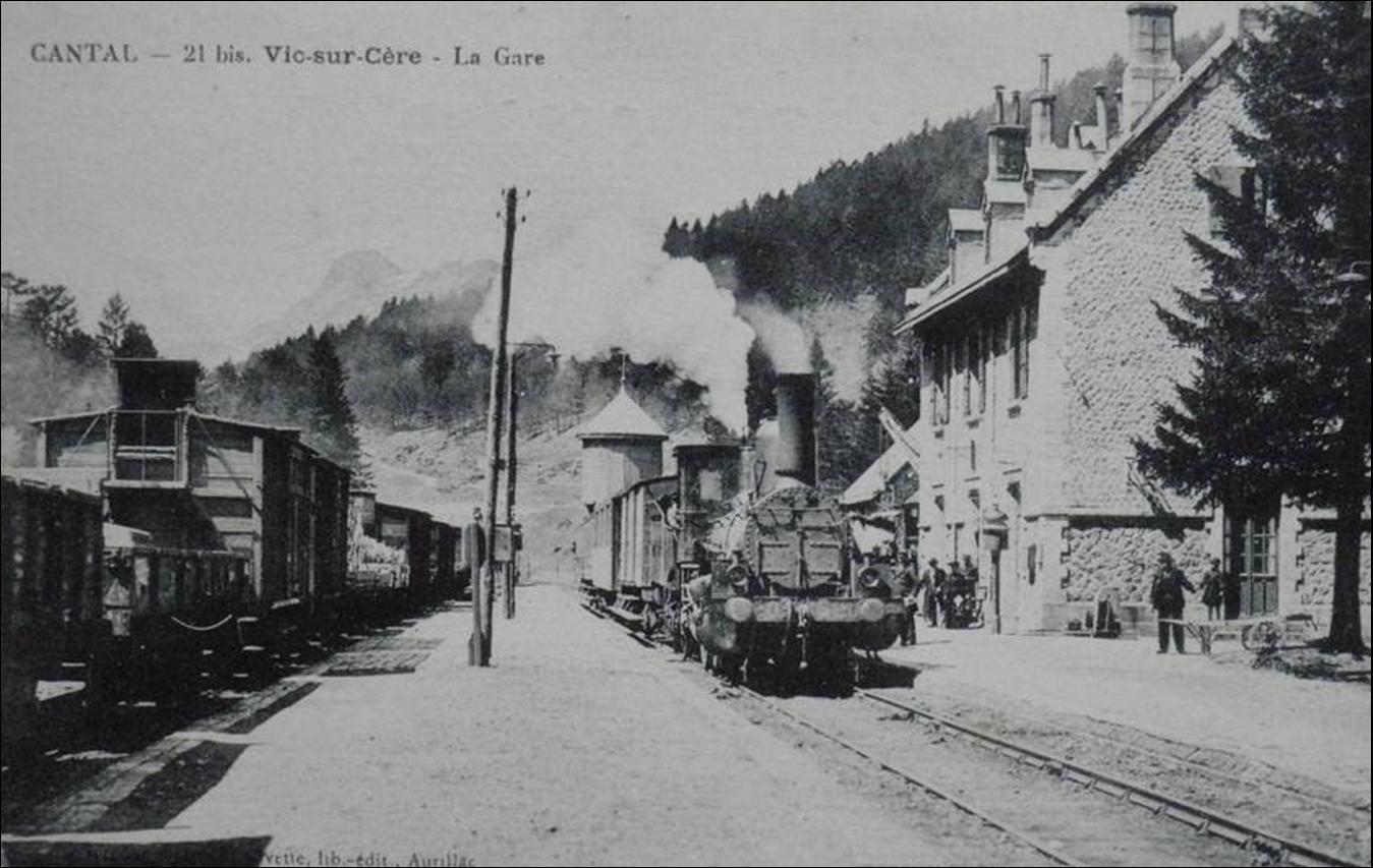 Avenue gare et gare