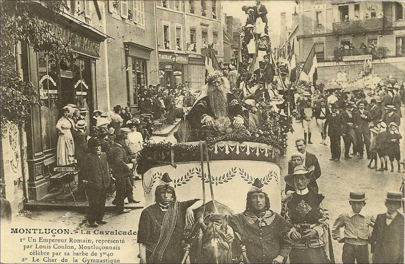 Auvergne d'hier insolite: Le barbu de Montluçon