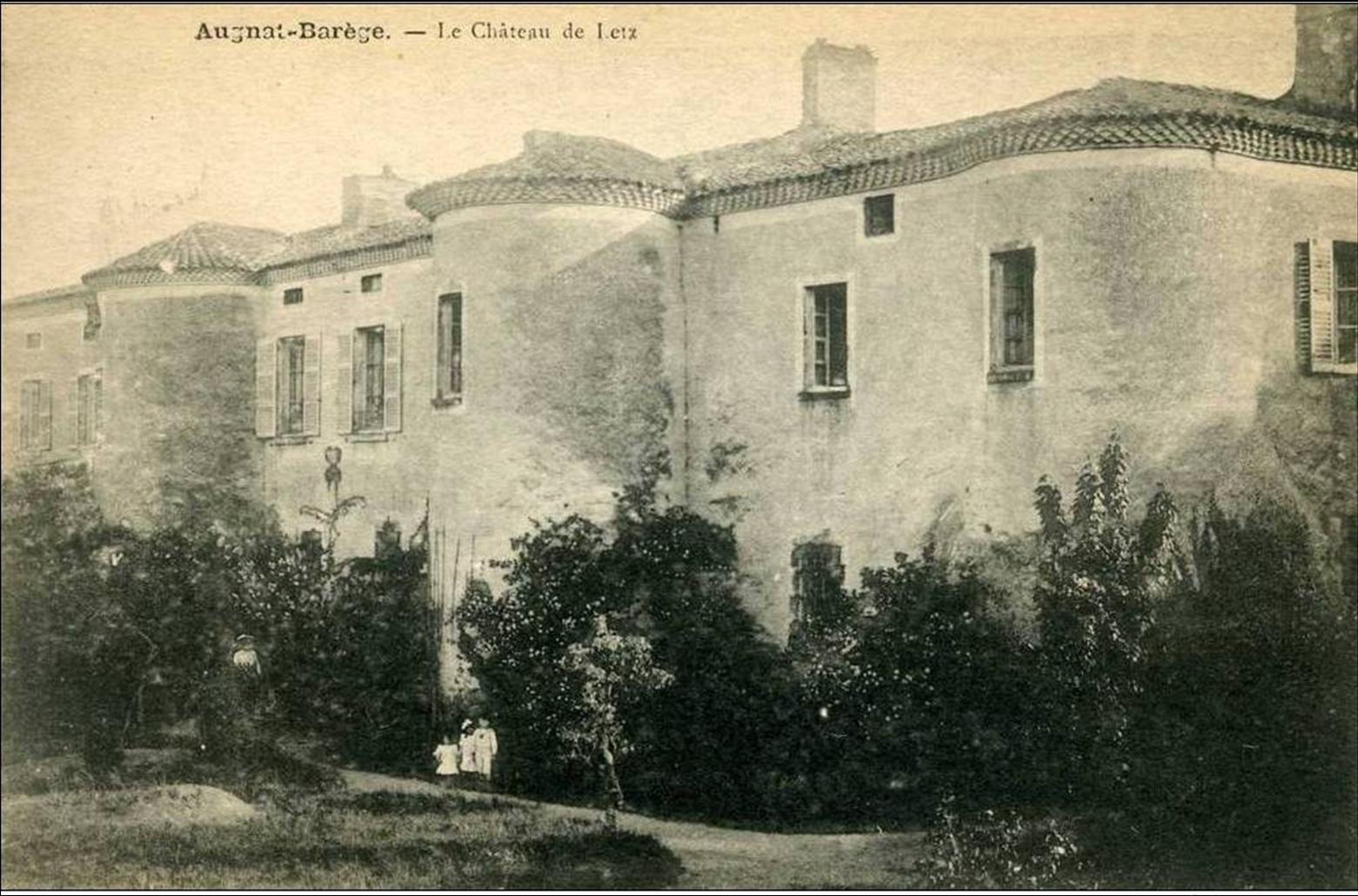 Cartes postales d'Augnat et Barége