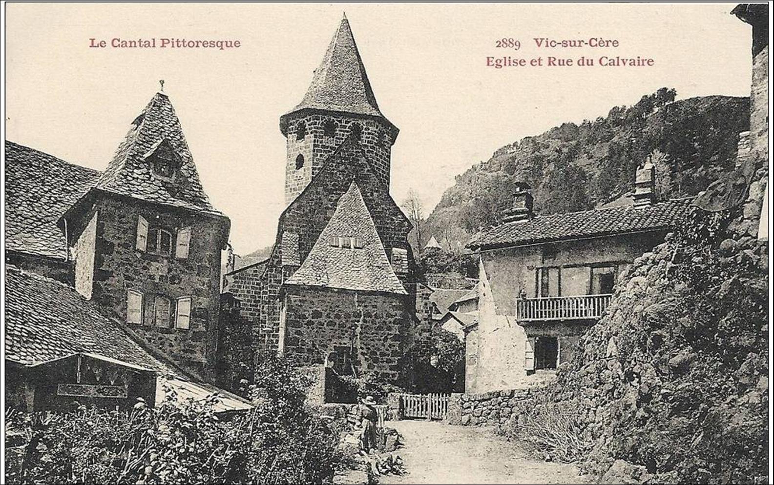 Vic sur cére en cartes postales anciennes