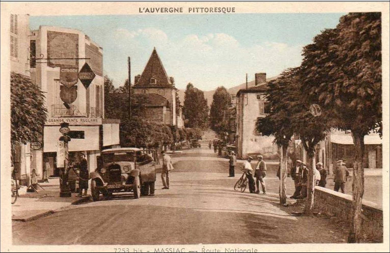 Cartes postales anciennes de Massiac