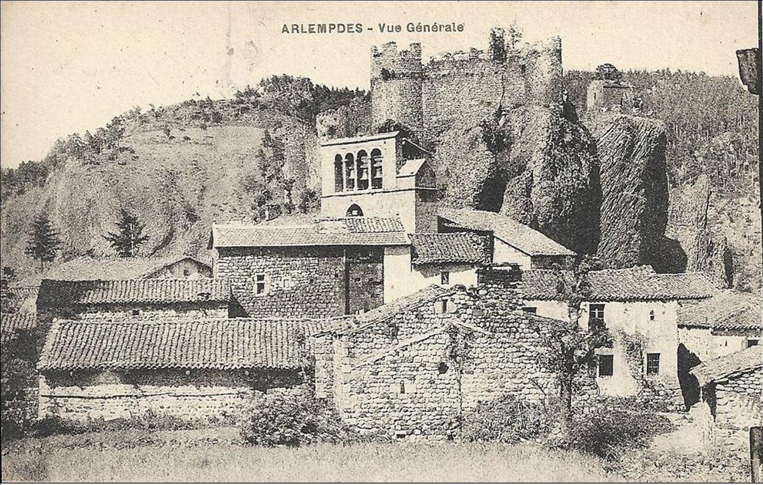 Les villages de Haute-Loire :Arlempdes