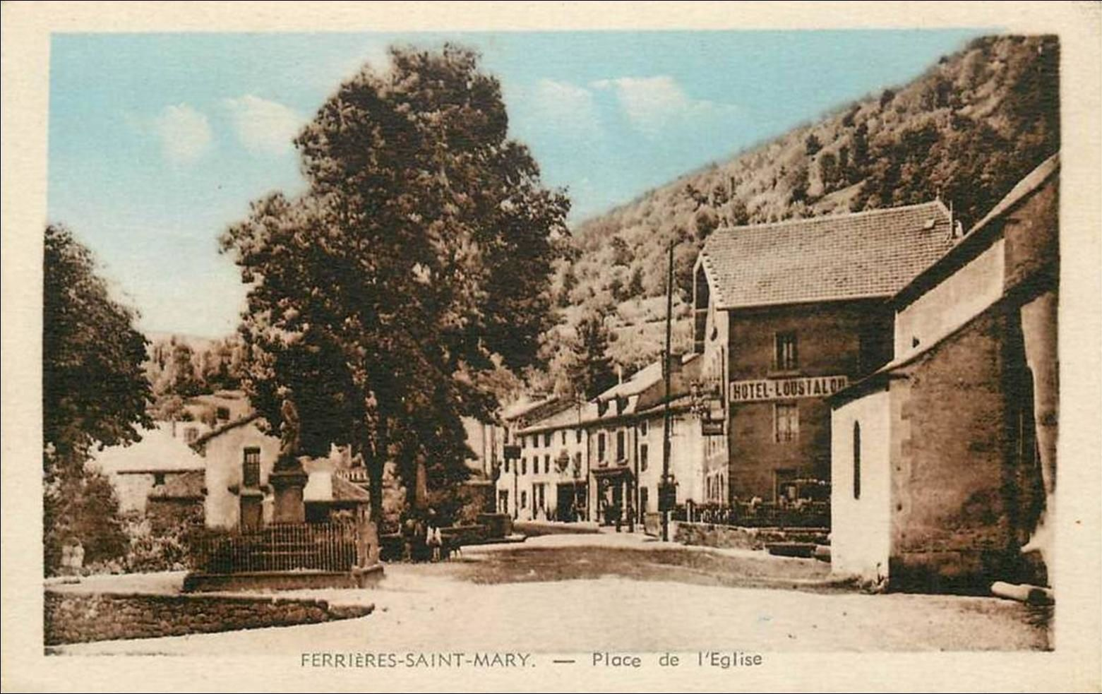 Ferrières St Mary