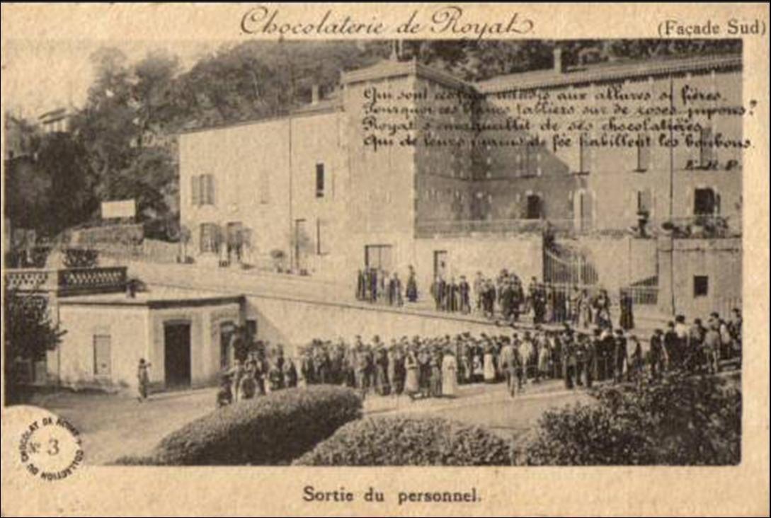 Ancienne industrie auvergnate: La chocolaterie de Royat
