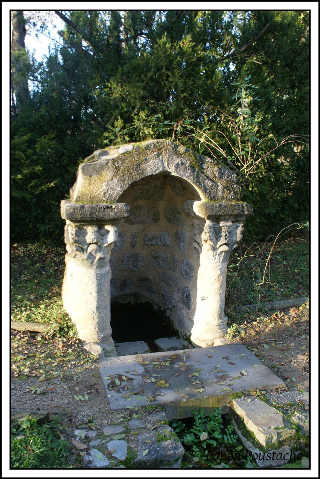 La fontaine St Julien à Brioude