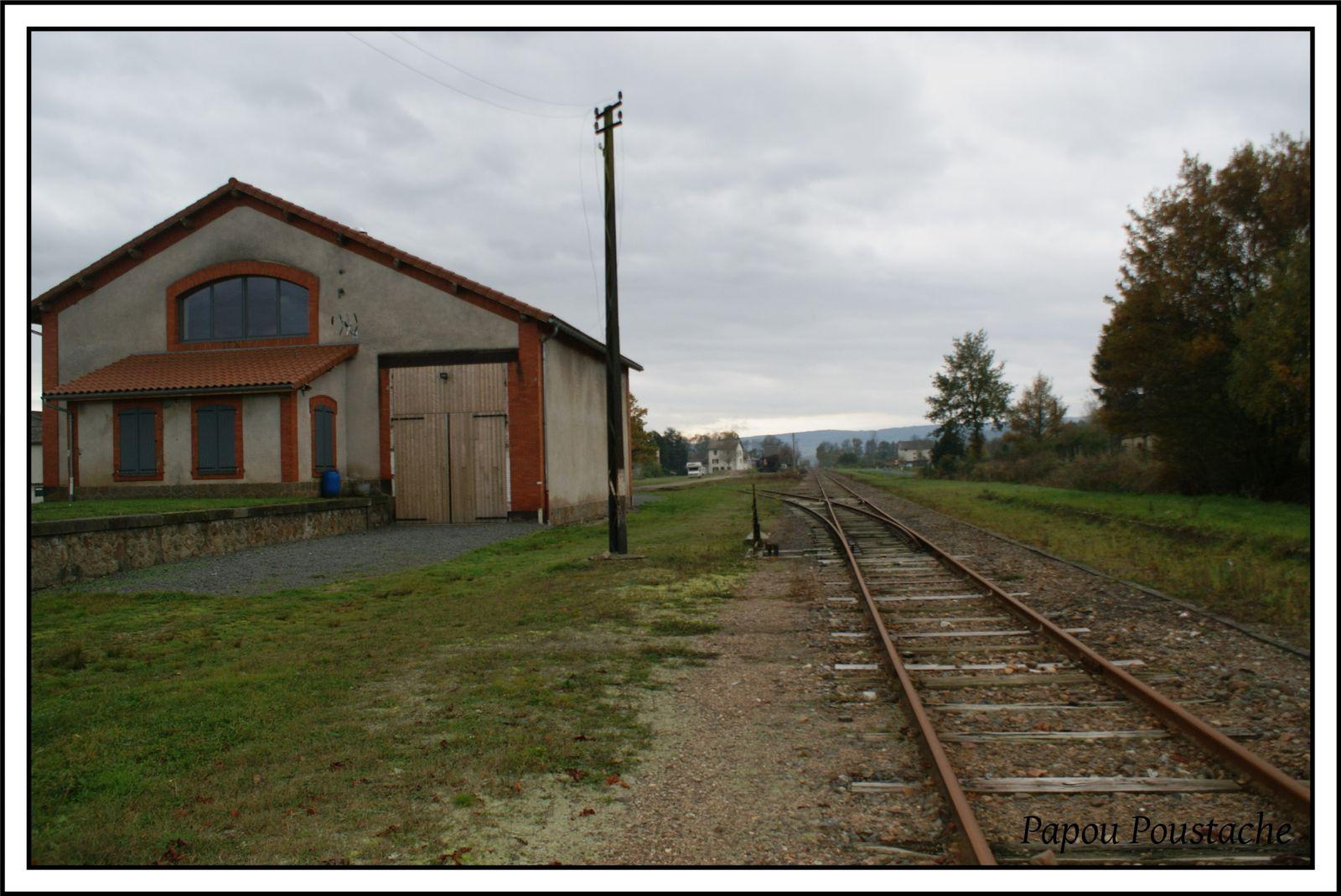 Les gares oubliées:Marsac en Livradois