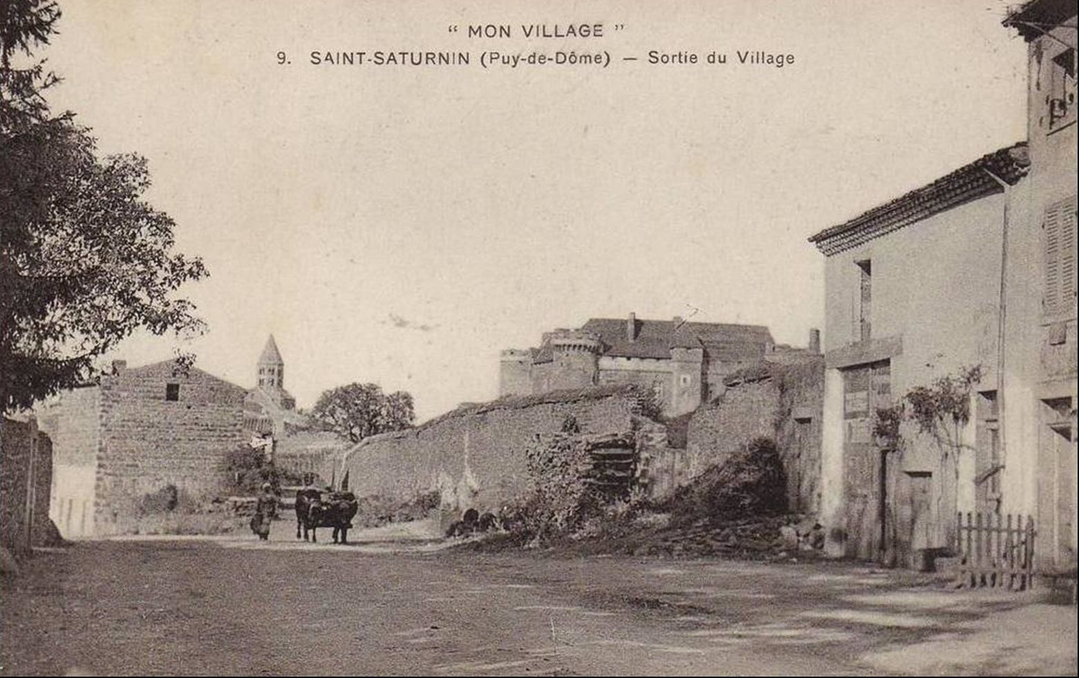 Les villages du Puy de Dome: Saint Saturnin