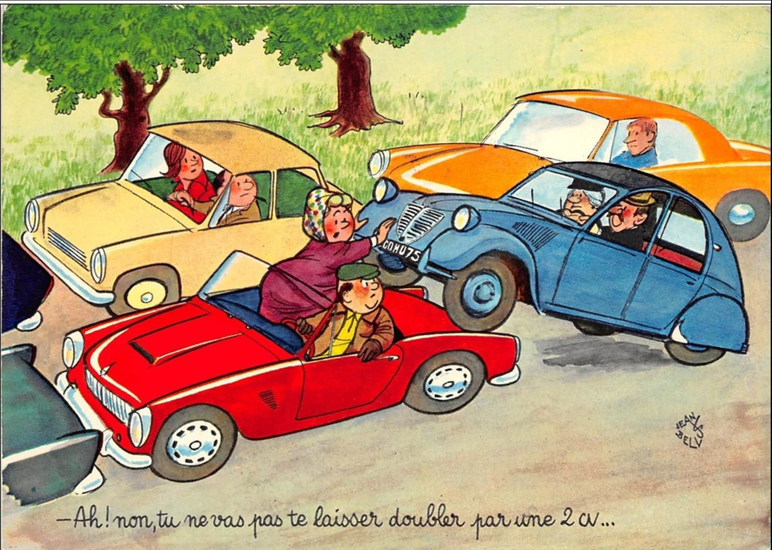 La Deudeuche est née en Auvergne (2CV Citroen)A