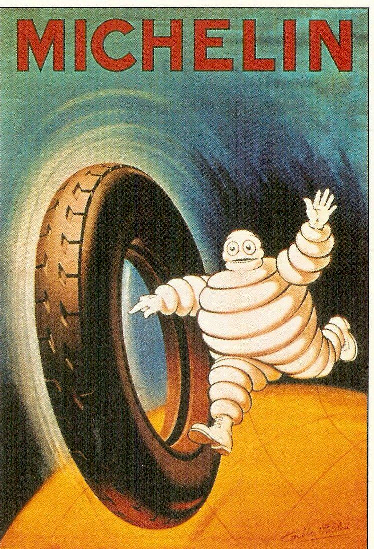 Ancienne publicité Michelin