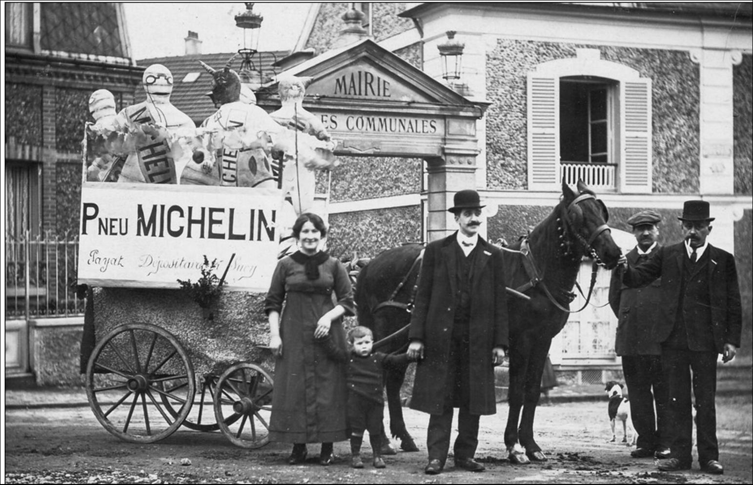 Michelin le début d'une grande histoire