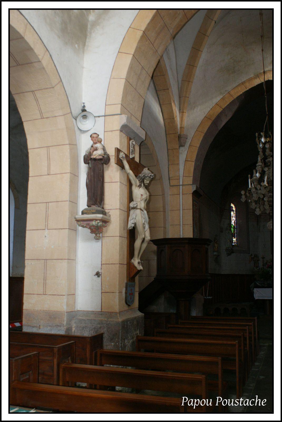 Patrimoine auvergnat:Eglise de Condat lès Montboissier