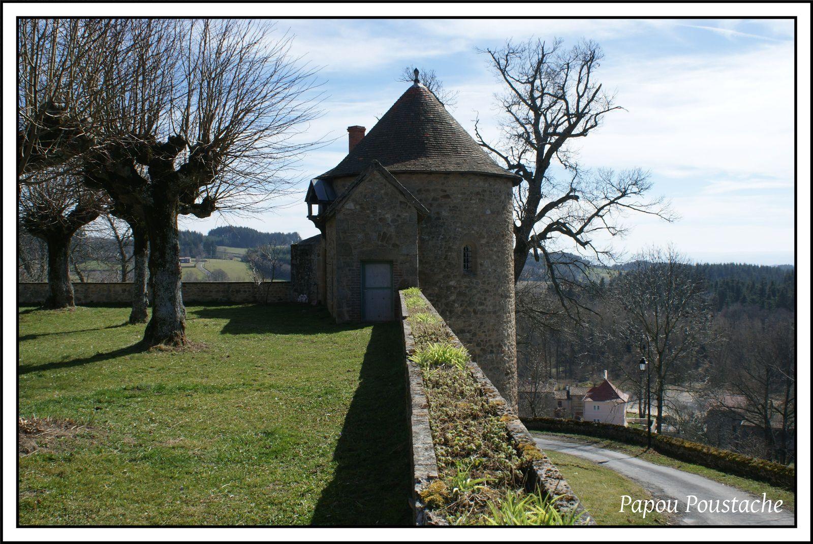 Patrimoine Auvergnat:Le chateau de Montfort