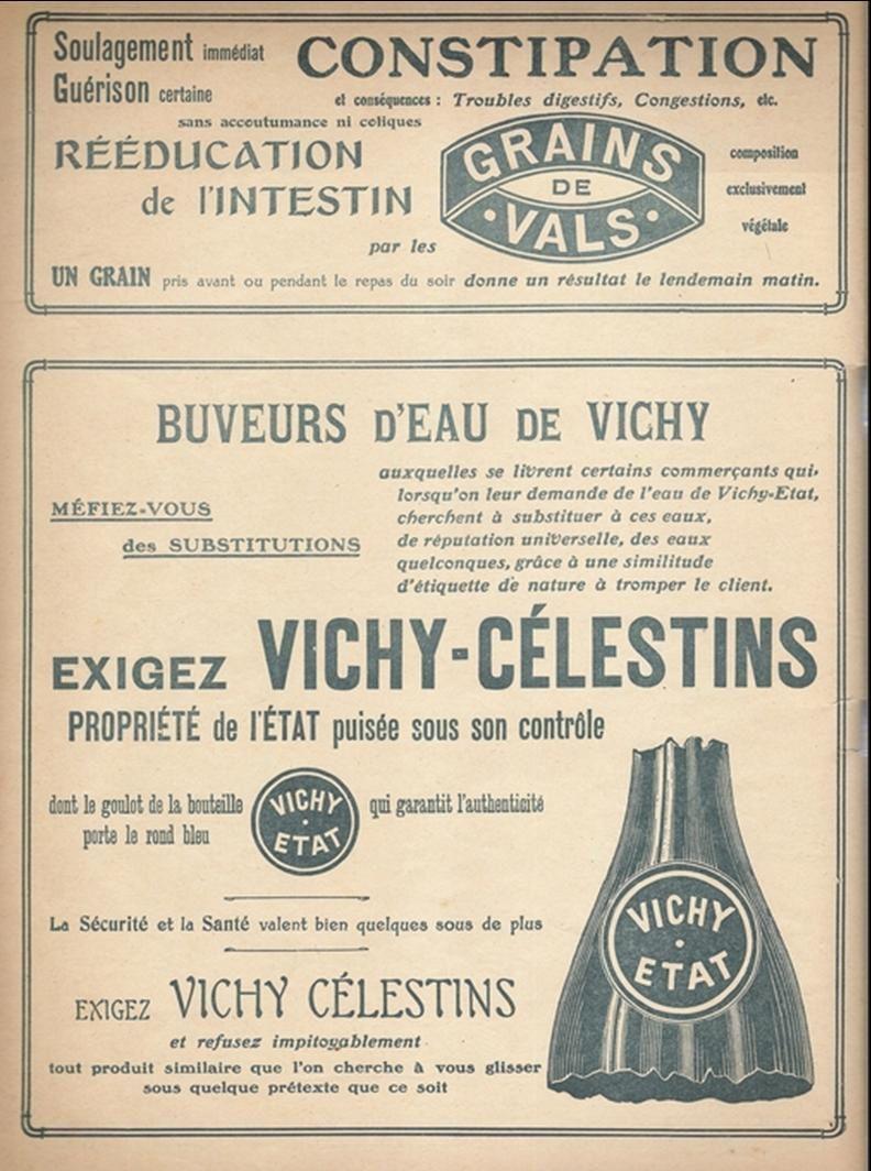 Les sources d'Auvergne: Vichy Célestins