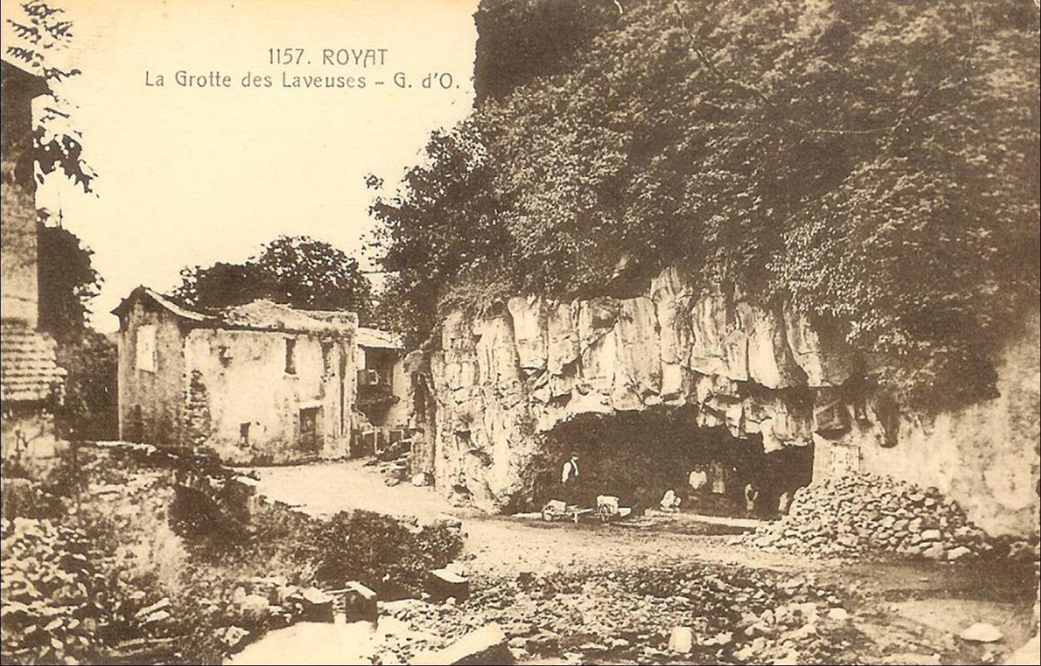 Grottes à Royat