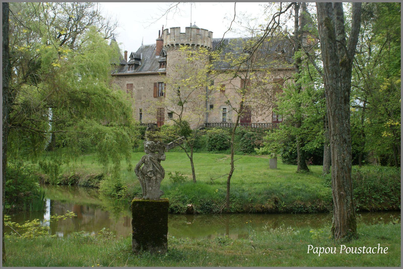 Patrimoine Auvergnat: Le château de La Garde