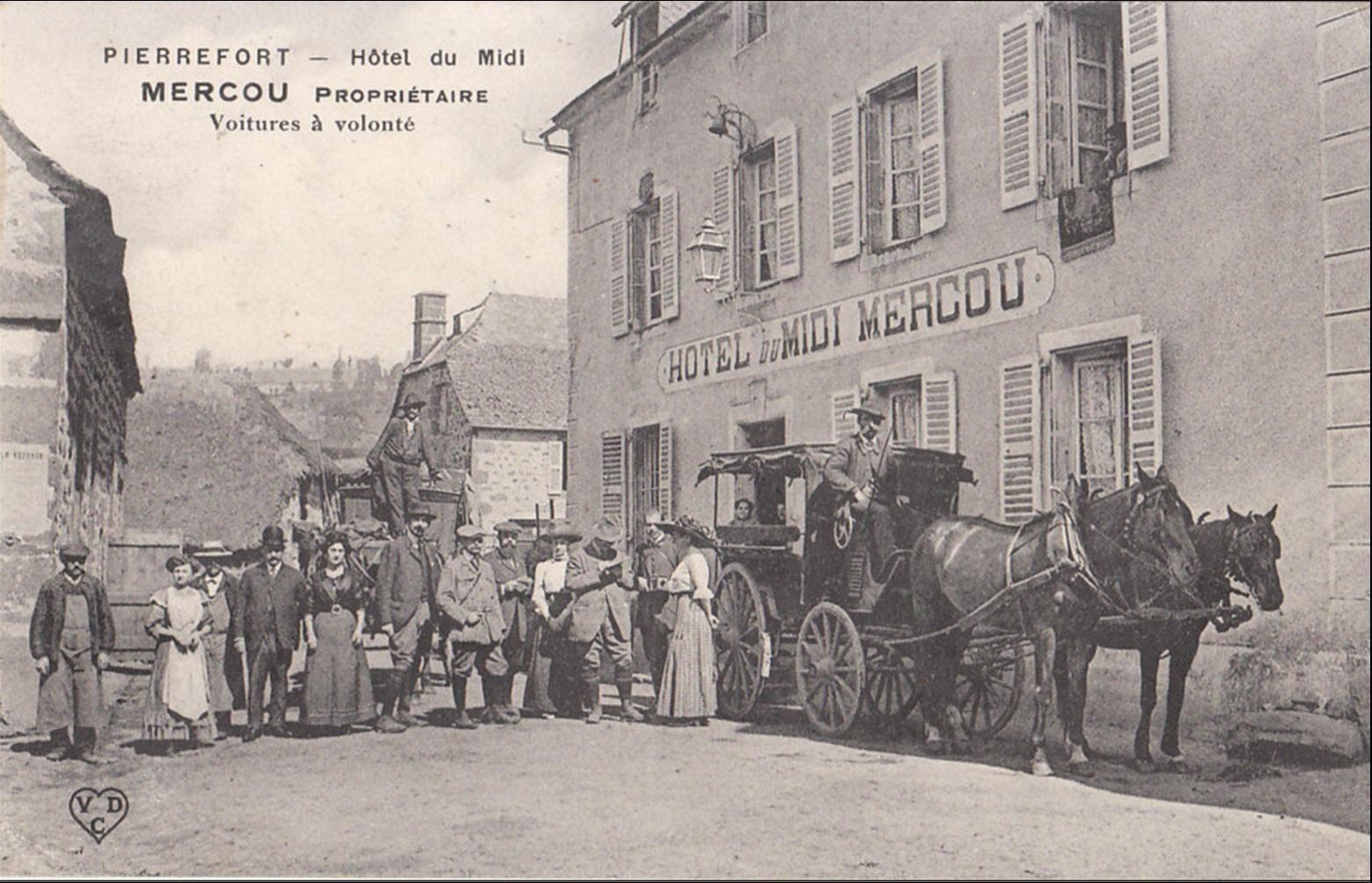 C'était hier à Pierrefort (Cantal)