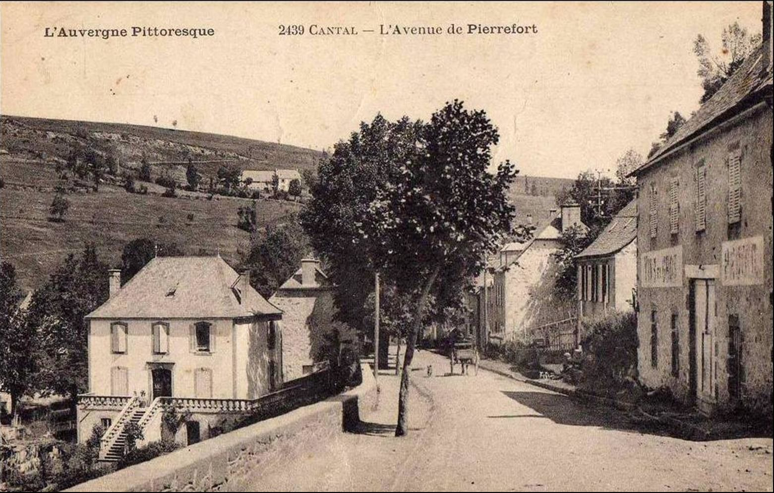 C'était hier à Pierrefort (Cantal)