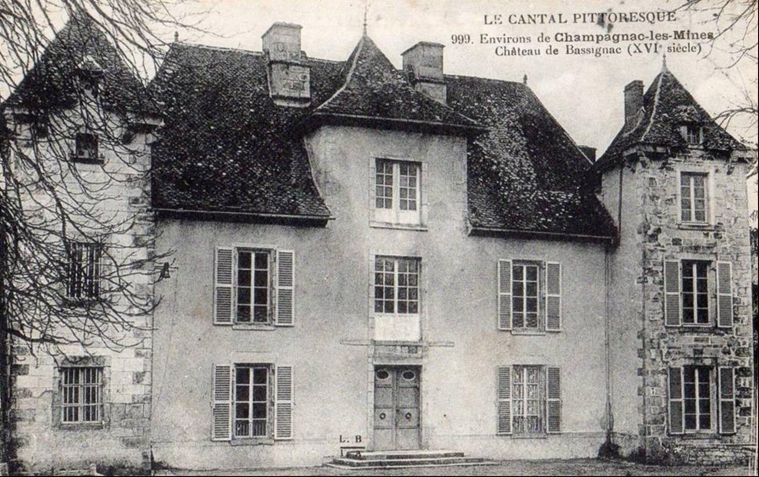 L'auvergne d'autrefois:Vendes,Bassignac Cantal