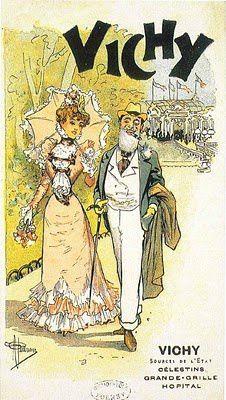 Vichy en cartes postales anciennes