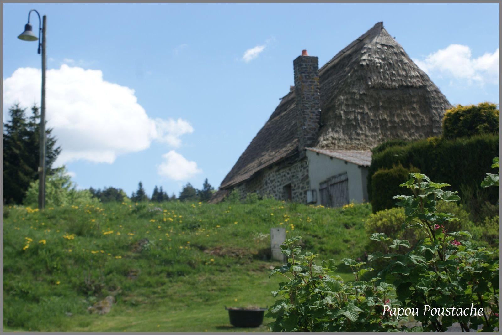 Les toits de Chaume à Moudeyres