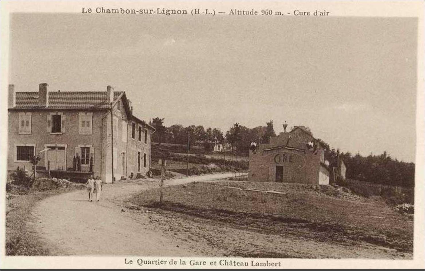 C'était hier au Chambon sur Lignon