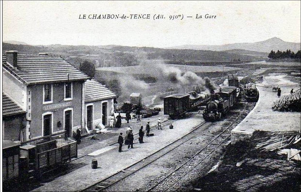 La gare du Chambon sur Lignon