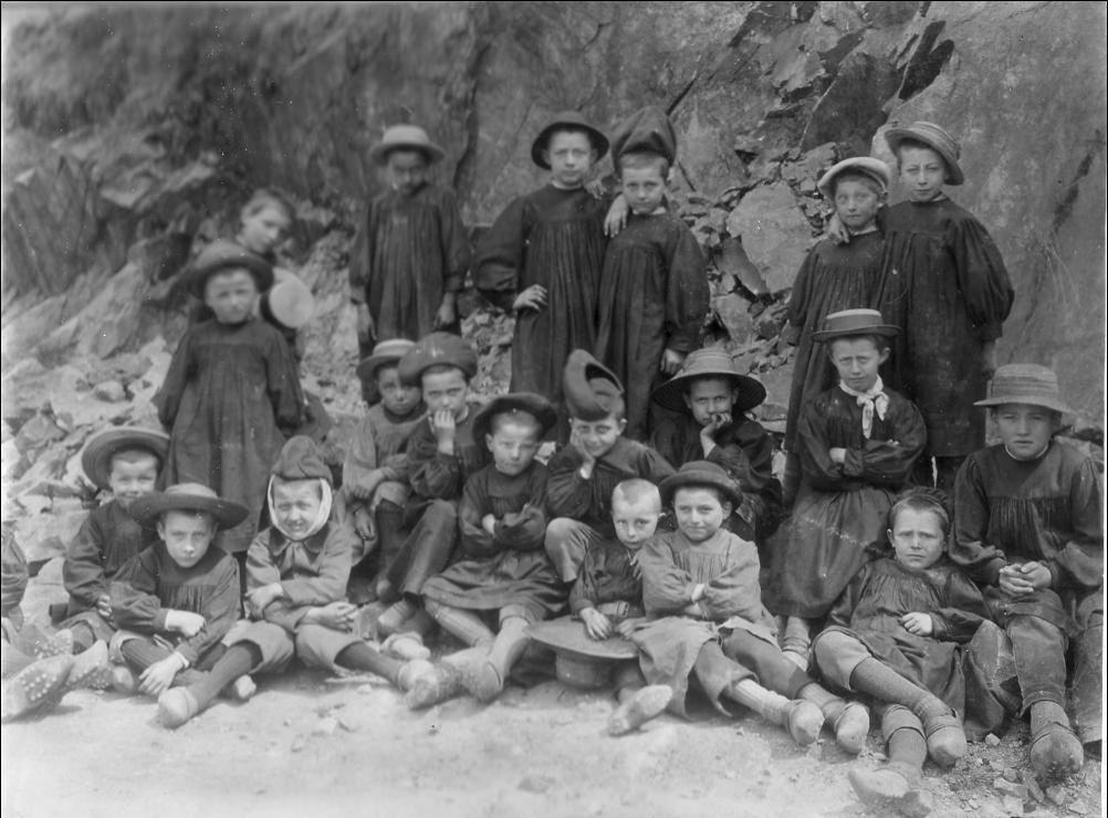 Auzon dans les années 1900
