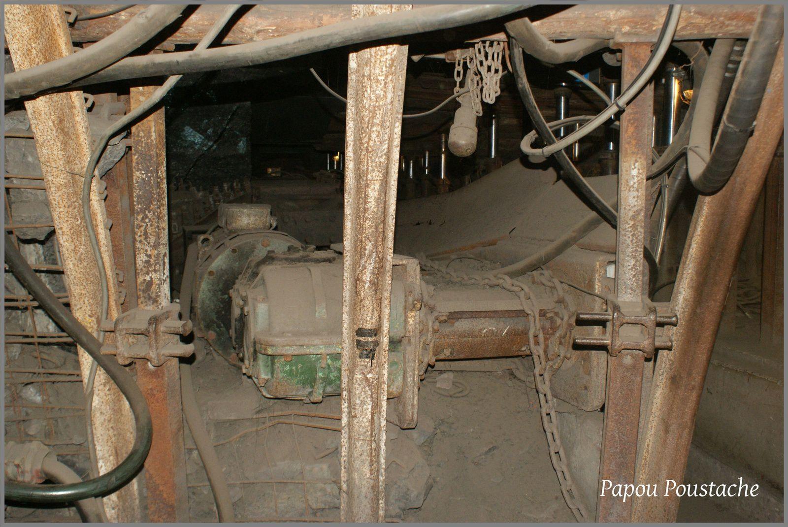Une mine dans les années 1970