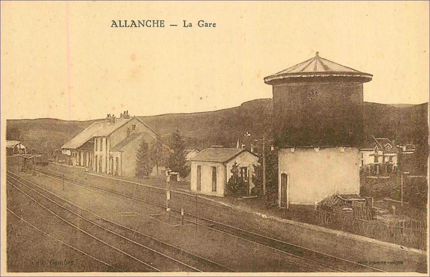 La gare d'Allanche