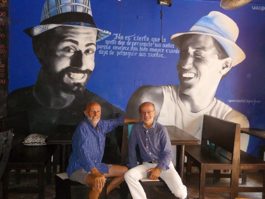 Périple de 2 Auvergnats d'Auzon entre le Québec  et l'Amérique du  Sud