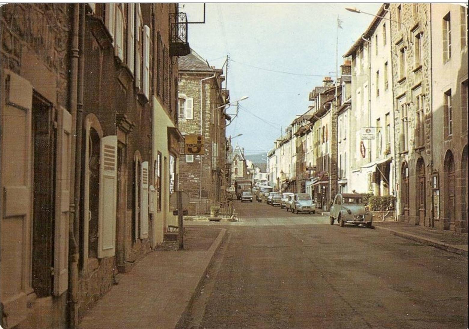 Les rues d'Allanche