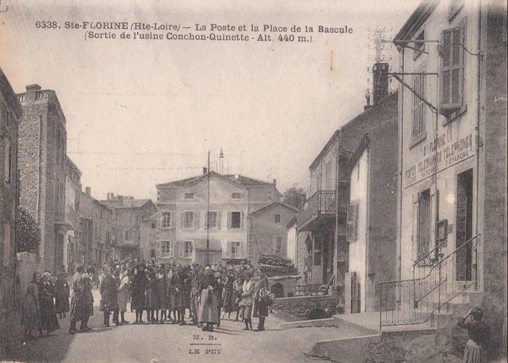 C'était hier:Ste Florine la route de Brassac