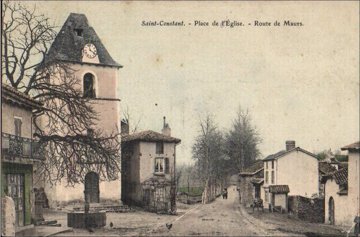 C'était hier: Saint Constant dans le Cantal
