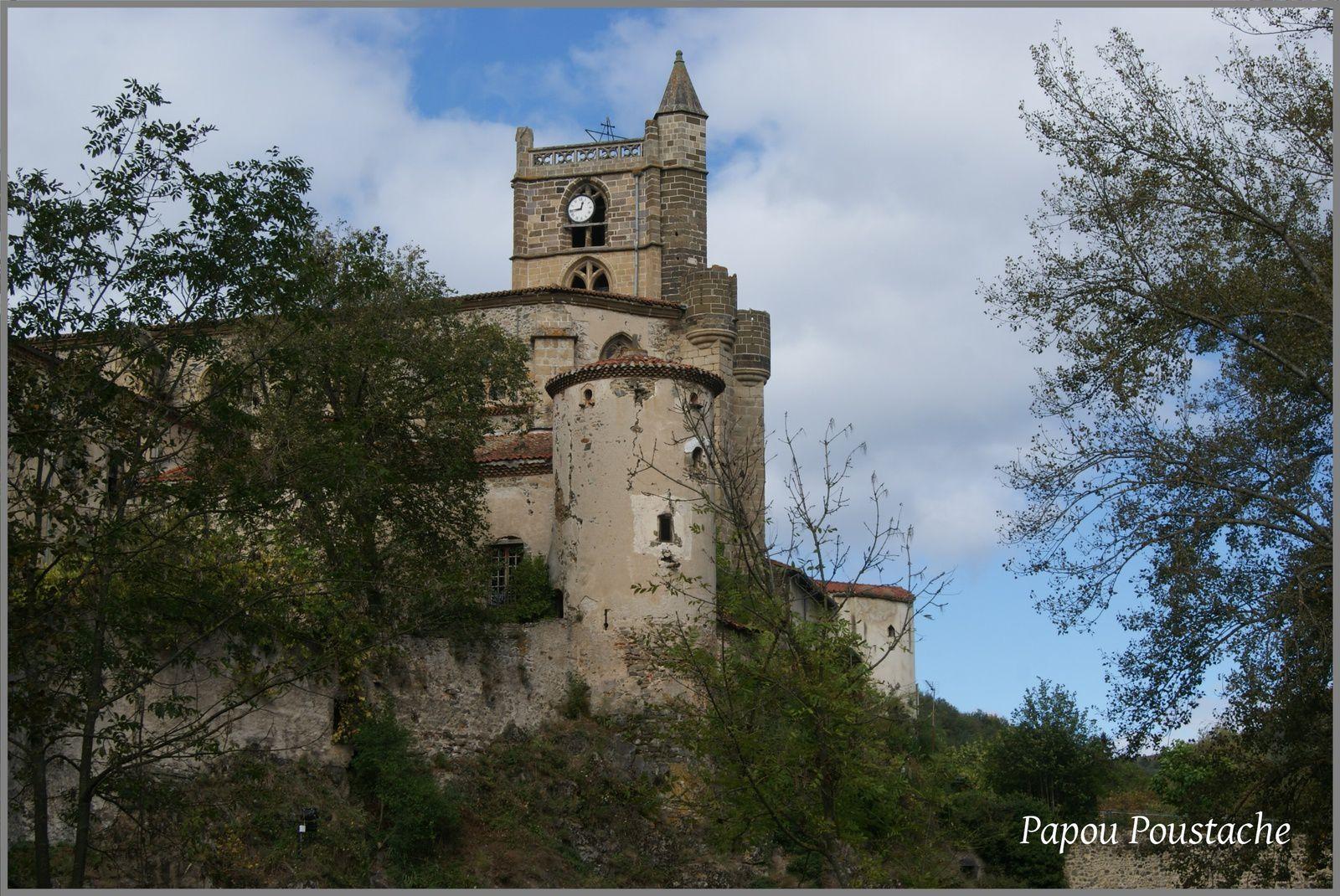Eglise à Lavoute Chilhac