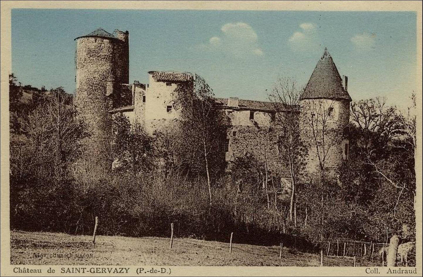 Le chateau de St Gervazy