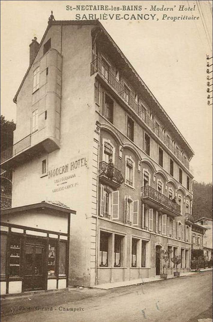 Hotel et maison d'accueil