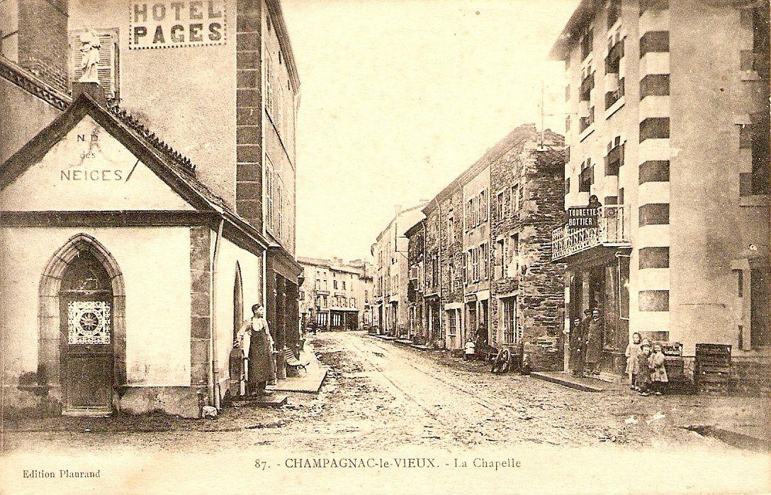 Il était une fois :Champagnac le Vieux