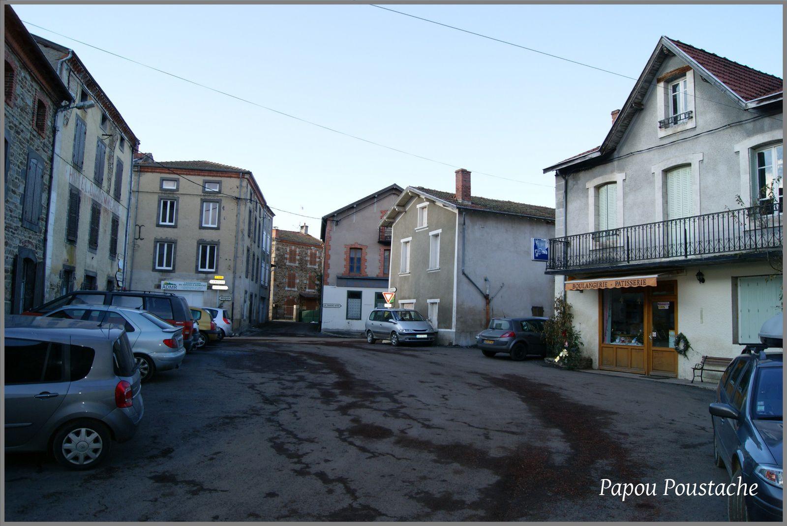 Les rues de Champagnac le Vieux d'hier et d'aujourd'hui