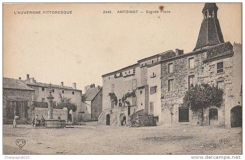 Les villages du Puy de Domes:Antoingt