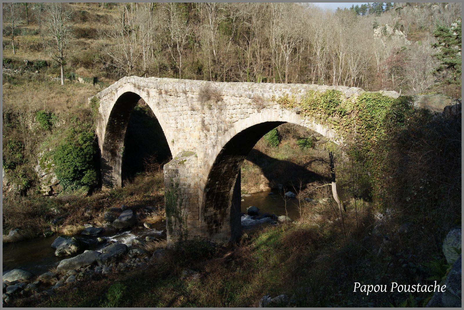 Pont du Diable à Chalencon